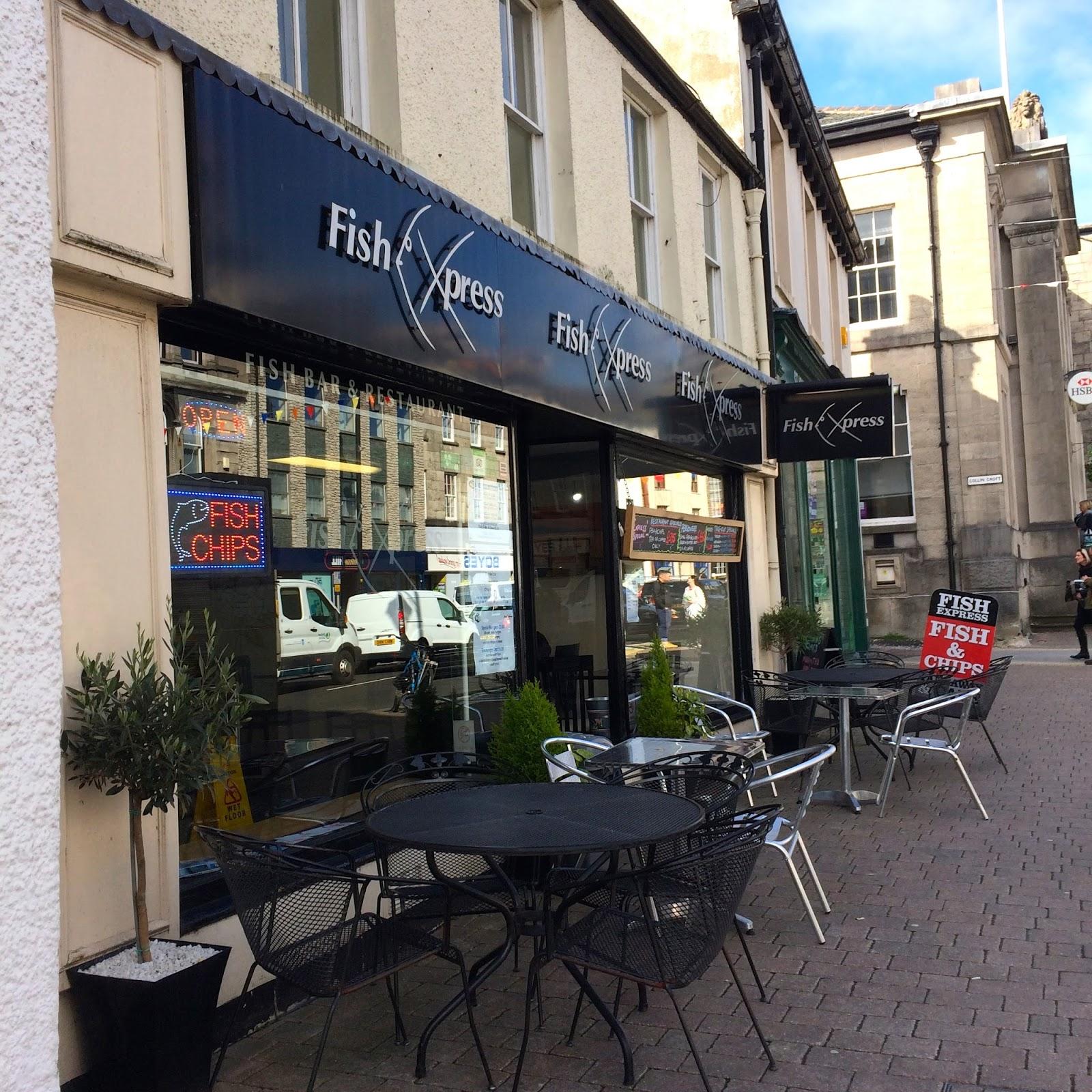 The Chip Diaries Fish Xpress Kendal Cumbria