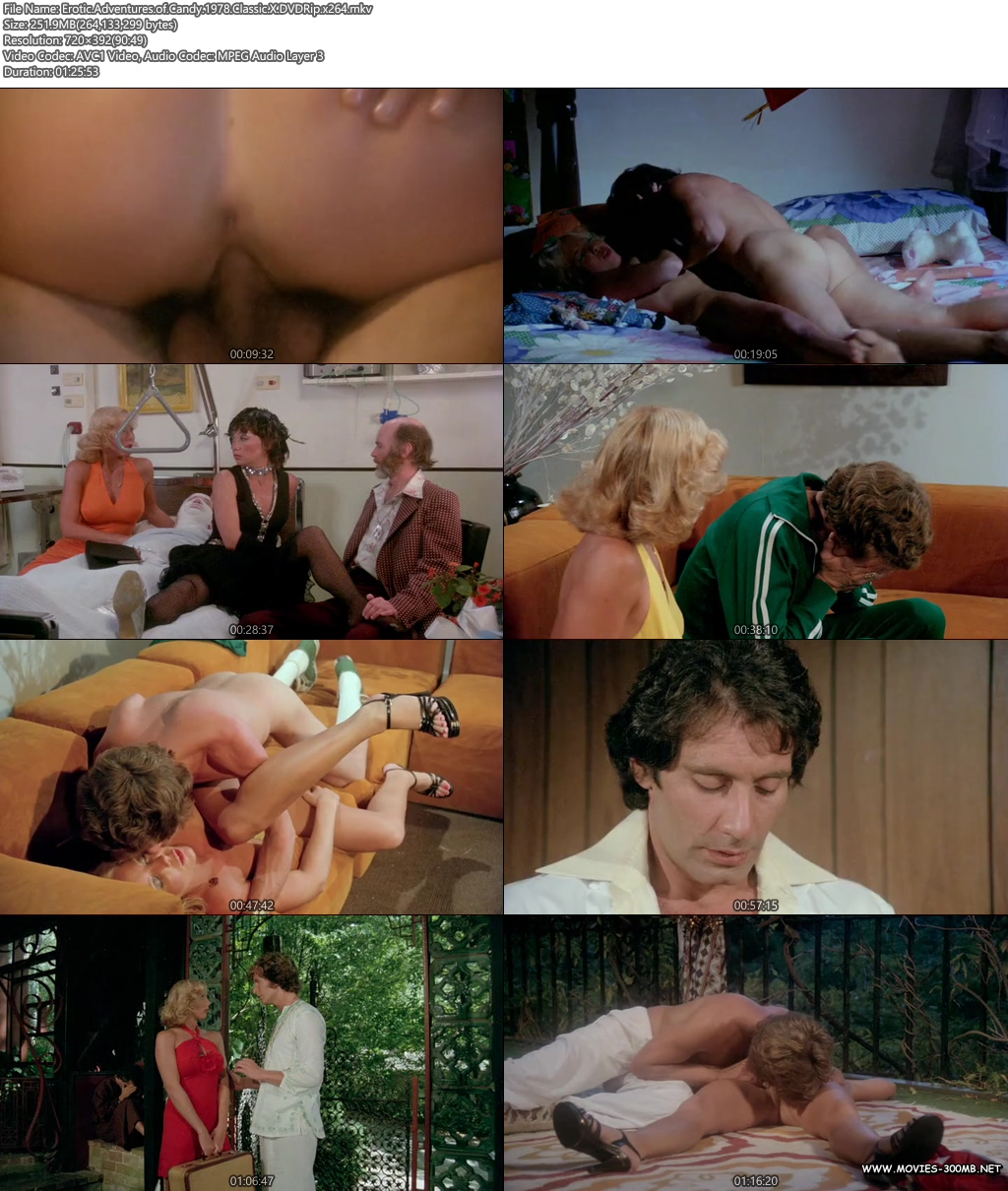 Erotic Adventures of Candy 1978 Classic X DVDRip 250MB x264 Screenshot