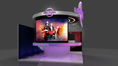 Canal Universal leva glass studio e ação de Lucifer à CCXP - Divulgação/Canal Universal