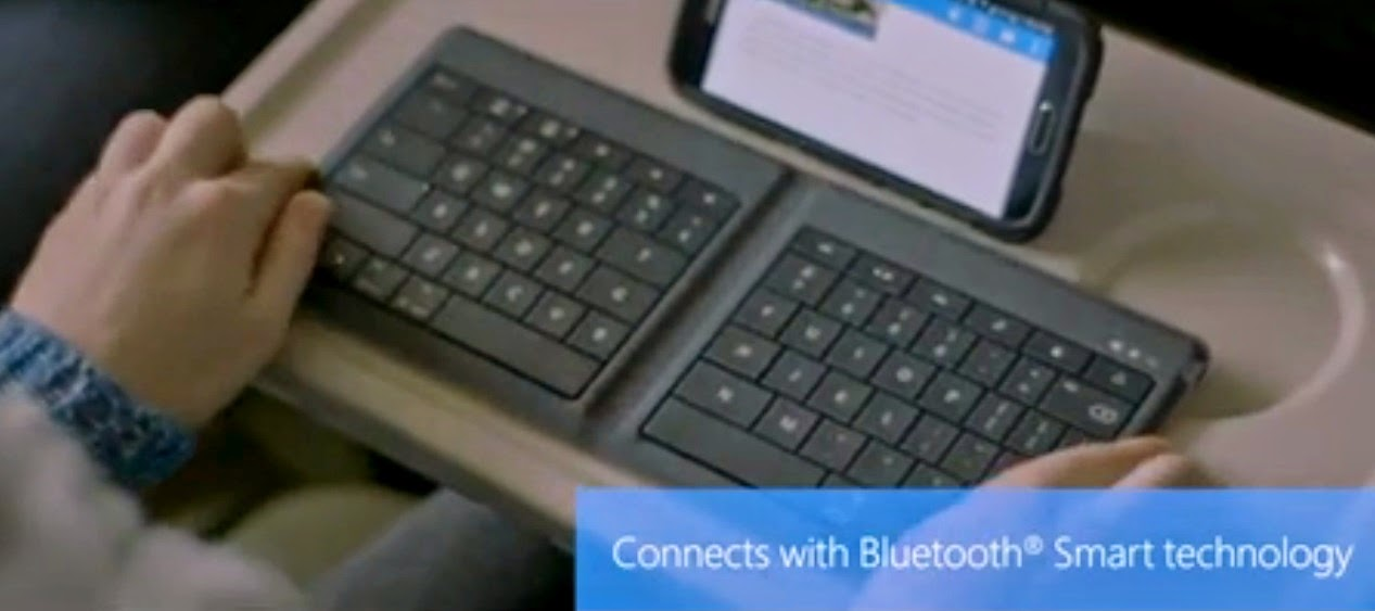 Universal Foldable Keyboard Microsoft Unveiled