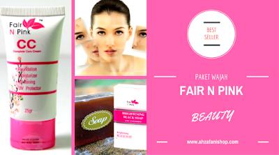Paket Fair n Pink Pemutih Wajah 100% Original Terdaftar BPOM