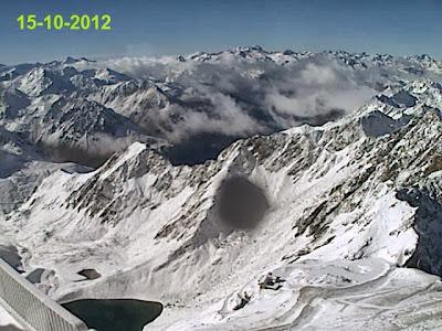 Primera nieve Pic du Midi 2012