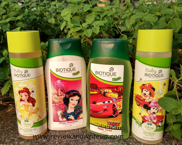Biotique products for kids and babies