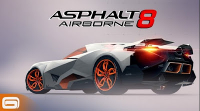 Asphalt 8 Airborne MOD (Free Shopping) APK + Data for Android