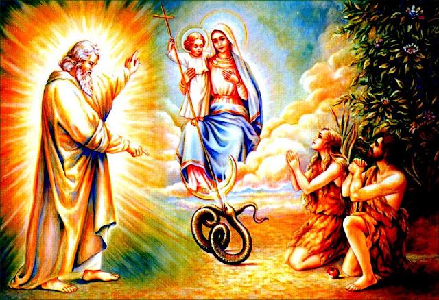 Siapa yang Meremukkan Kepala Ular dalam Kejadian 3:15? Bunda Maria atau Yesus?