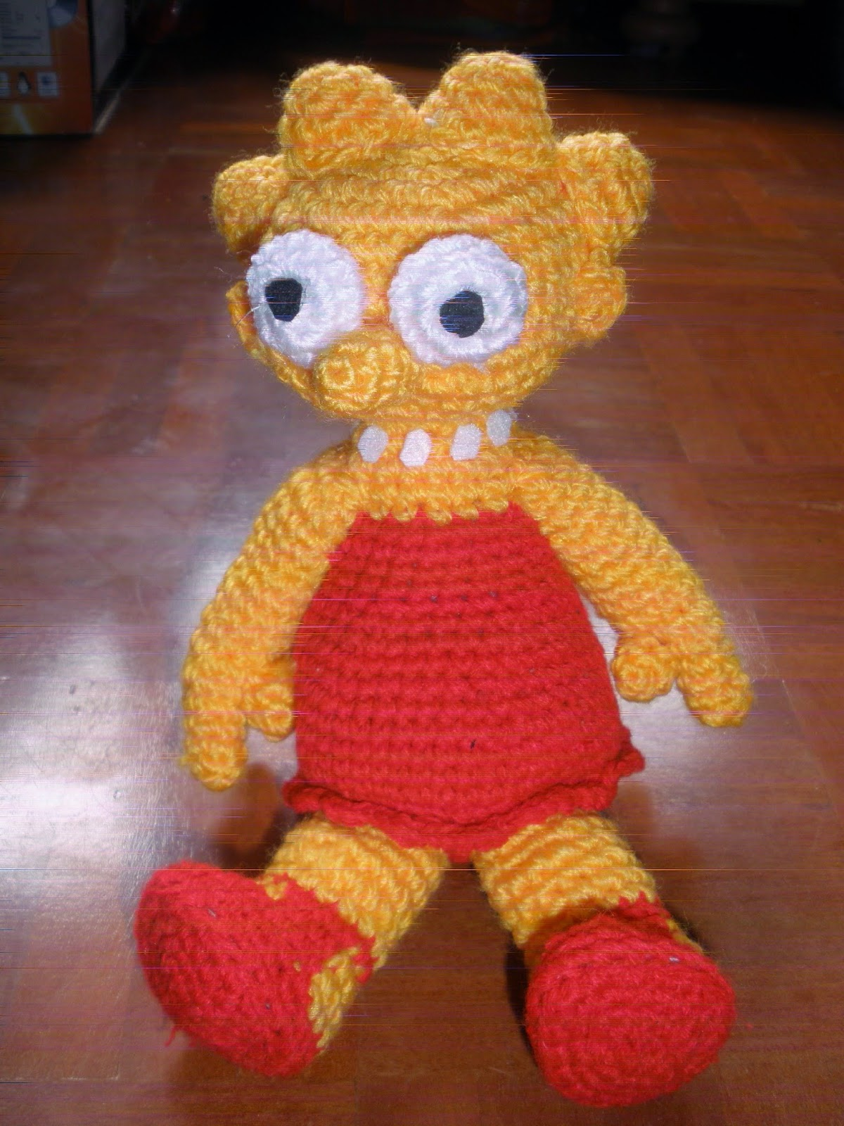 lisa simpson amigurumi