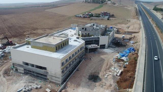 Bozova Devlet hastanesi yükseliyor