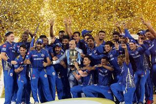आईपीएल 2019 के फाइनल में मुंबई इंडियंस ने चेन्नई सुपर किंग्स को 1 रन से हराकर चौथी बार खिताब पर कब्जा जमाया