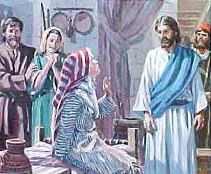 Cristo en casa de suegra de Pedro