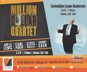 Million Dollar Quartet and Louie Anderson