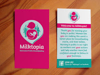 Image: FREE cards to hand out to normalize public breastfeeding!