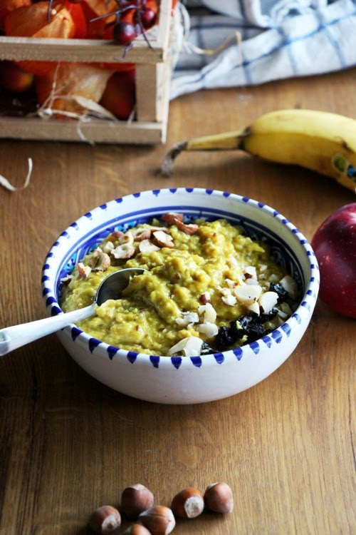 Kurkuma Spice Porridge