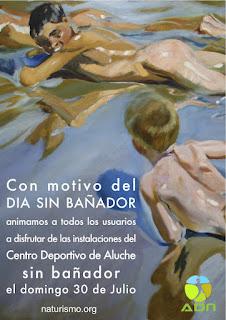 Día sin bañador 2017. Aluche. Madrid. ADN