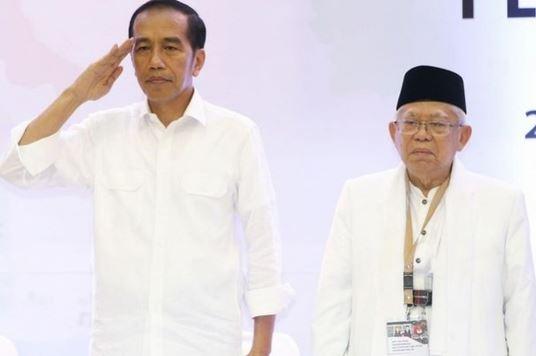 Hasil Survei di Jatim Menunjukkan Elektabilitas Jokowi-Ma'ruf Amin 55,9%, Prabowo-Sandiaga Uno 32,1%
