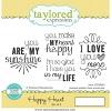 TE Happy Heart stamp set