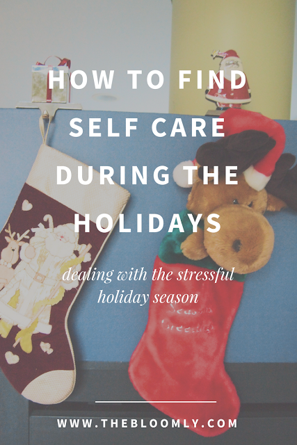 How to Find Self Care During the Holidays