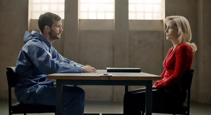 Stella Gibson y Paul Spector (The Fall)
