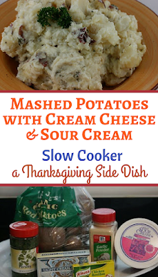 The world's best mashed potatoes. Make them early and then keep them warm in the crockpot so you can enjoy your family this Thanksgiving!
