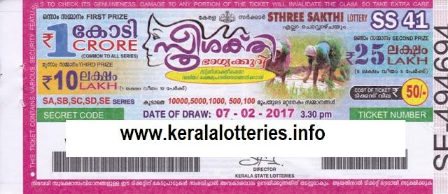 Sthrreesakthi (SS-53)_Kerala  lottery result full