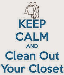 Closet Clean Out- Get Ready For Fall 2014