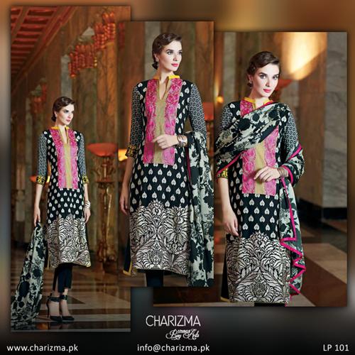 Charizma Winter Collection 2015 Vol-3