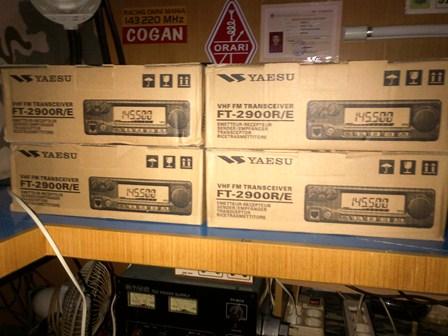 Zoelradio Yaesu Ft 2900r 125 Watt Baru