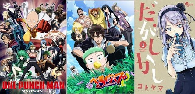 rekomendasi anime paling lucu bikin ngakak kocak