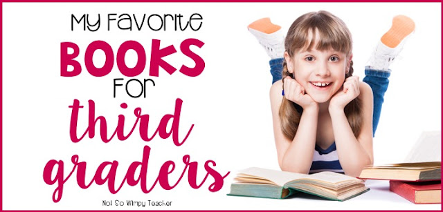 Book recommendations for 3rd grade read alouds and book clubs