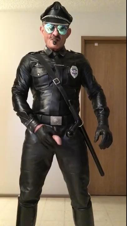 Cop jerk off excellent