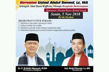 Istighosah dan Tabligh Akbar Bersama Ust Abdul Somad, Lc, MA