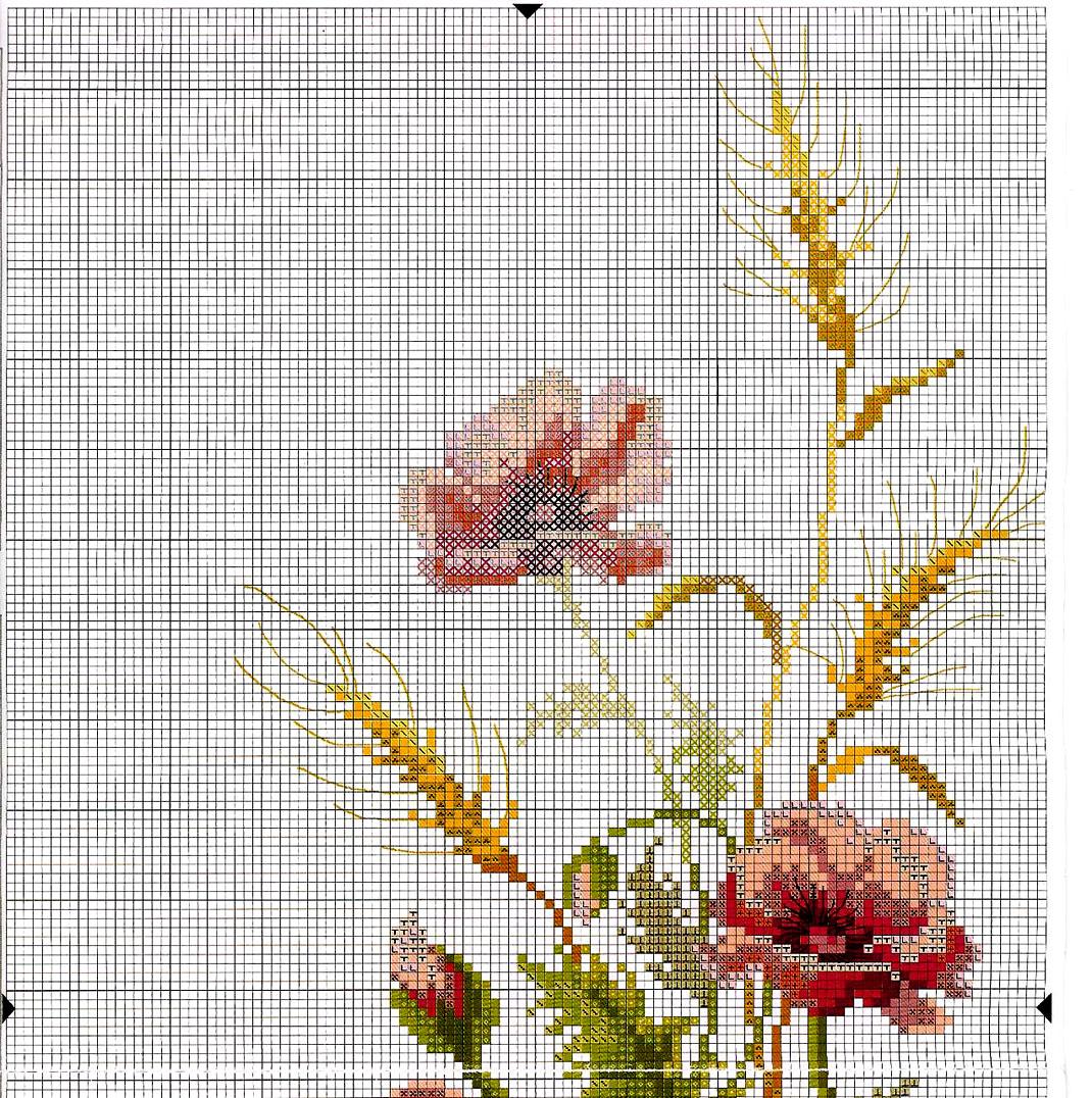 Скачать схема вышивки крестом триптих фото 327