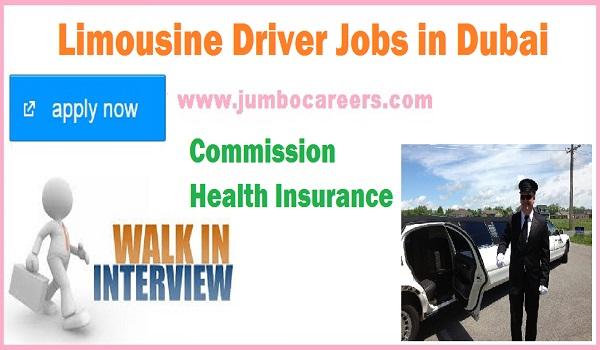 Drivers jobs in Dubai UAE, Dubai jobs for Limousine Drivers May 2018,