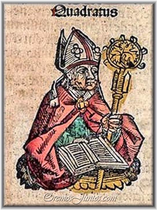 sveti Kvadrat - učenec apostolov