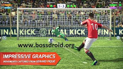 Final kick: Online football Apk Mod Full Version