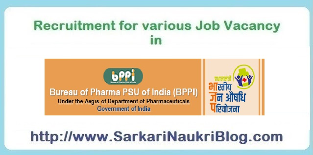 Naukri vacancy recruitment BPPI