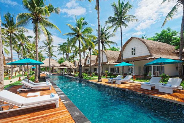 Gili Trawangan Hotel barato oceano jambuluwuk