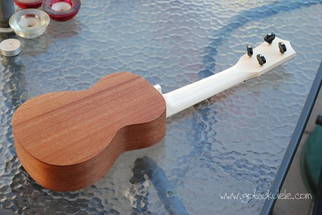 Bruno 6 soprano ukulele back