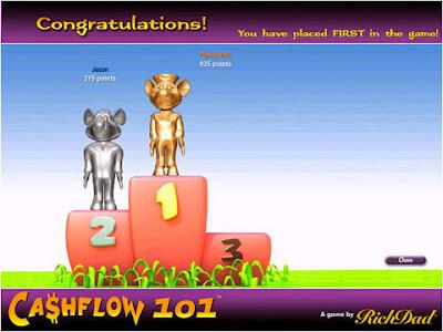 Thi đấu E-game cashflow