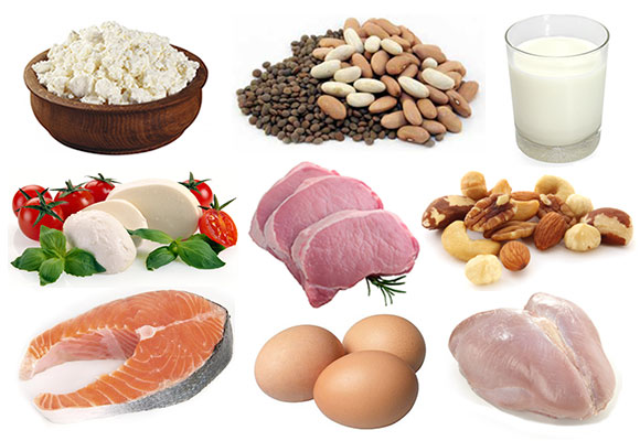 Manger des protéines