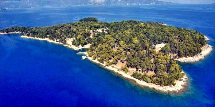 Isola di Vido, Kerkyra, Grecia