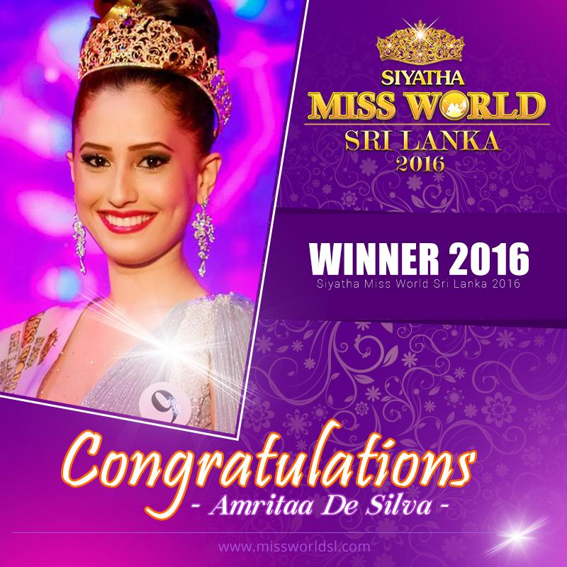 Miss Dusheni Sri Miurangi Lanka