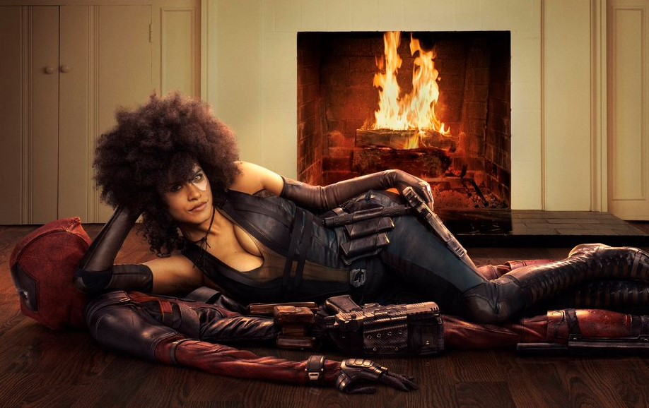"""Primeiras imagens de Zazie Beetz como Dominó em """"Deadpool 2"""""""