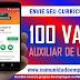 SELEÇÃO PRESENCIAL 100 VAGAS PARA AUXILIAR DE LOGÍSTICA COM ENSINO FUNDAMENTAL