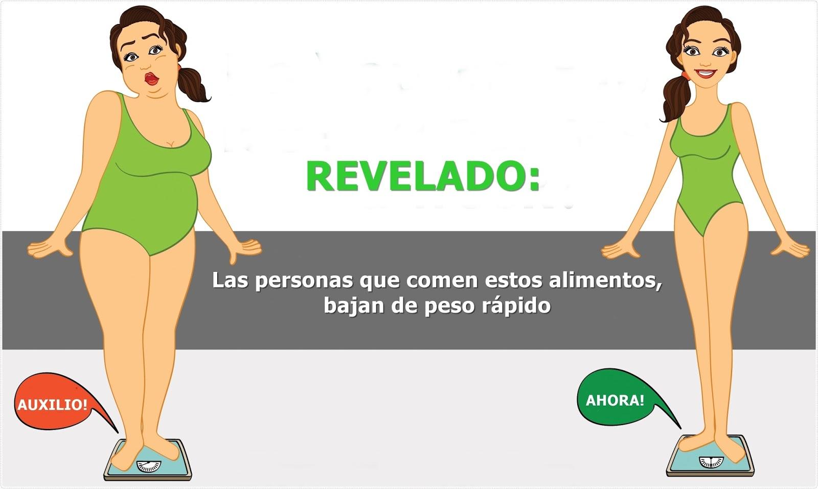 Como bajar de peso rapido y sin ejercicios para