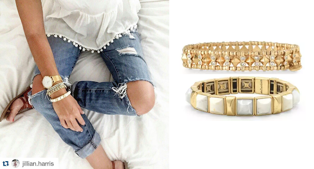 Stella & Dot Bracelets as seen on Jillian Harris