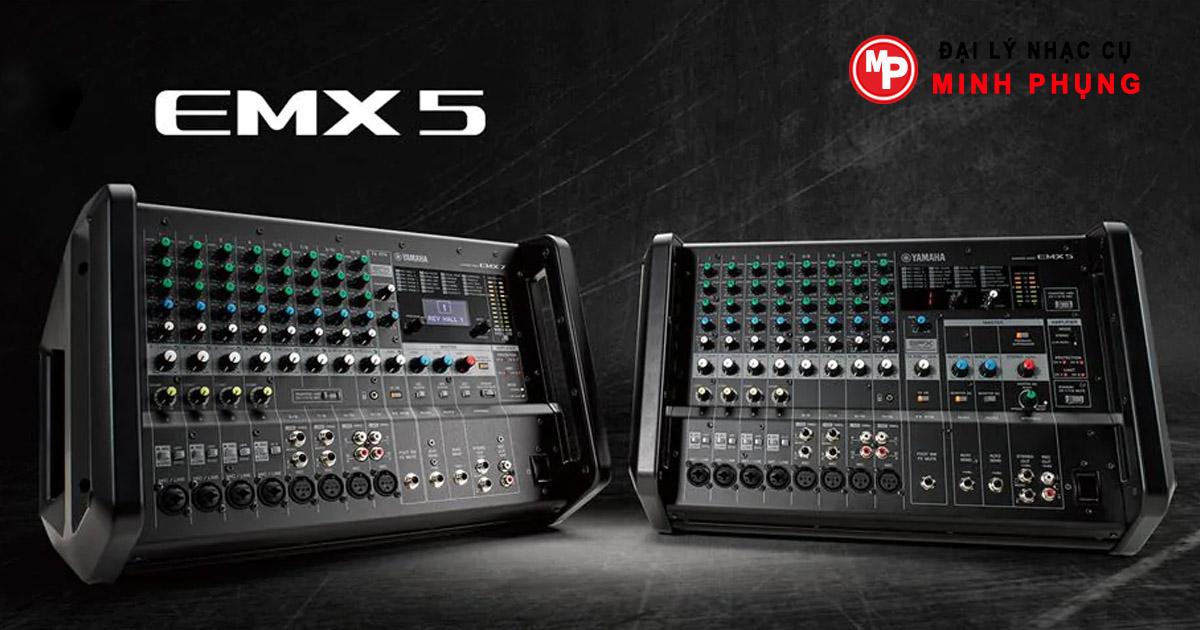 Mixer Yamaha EMX5 liền công suất 12 kênh
