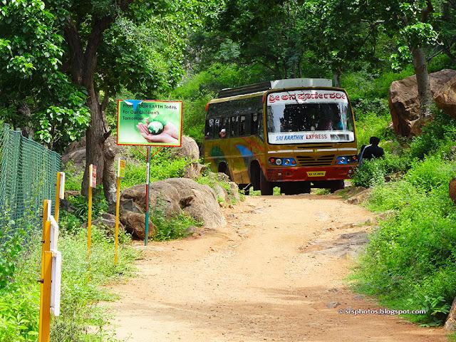 Bus for Visiting Mekedatu from Sangama, Kanakapura, Bangalore, Karnataka