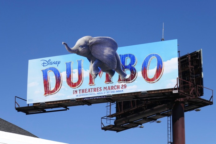 Dumbo elephant extension billboard