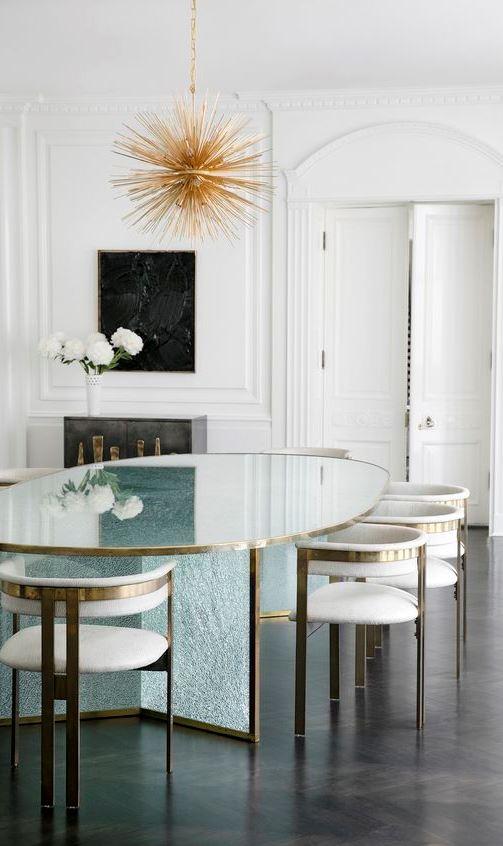 modern dinning room design idea