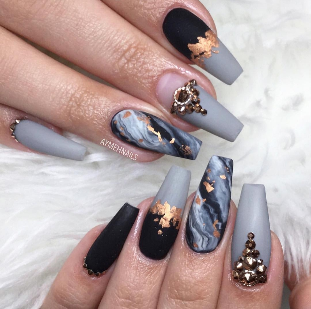 Cute acrylic nail color ideas , ClassyStylee